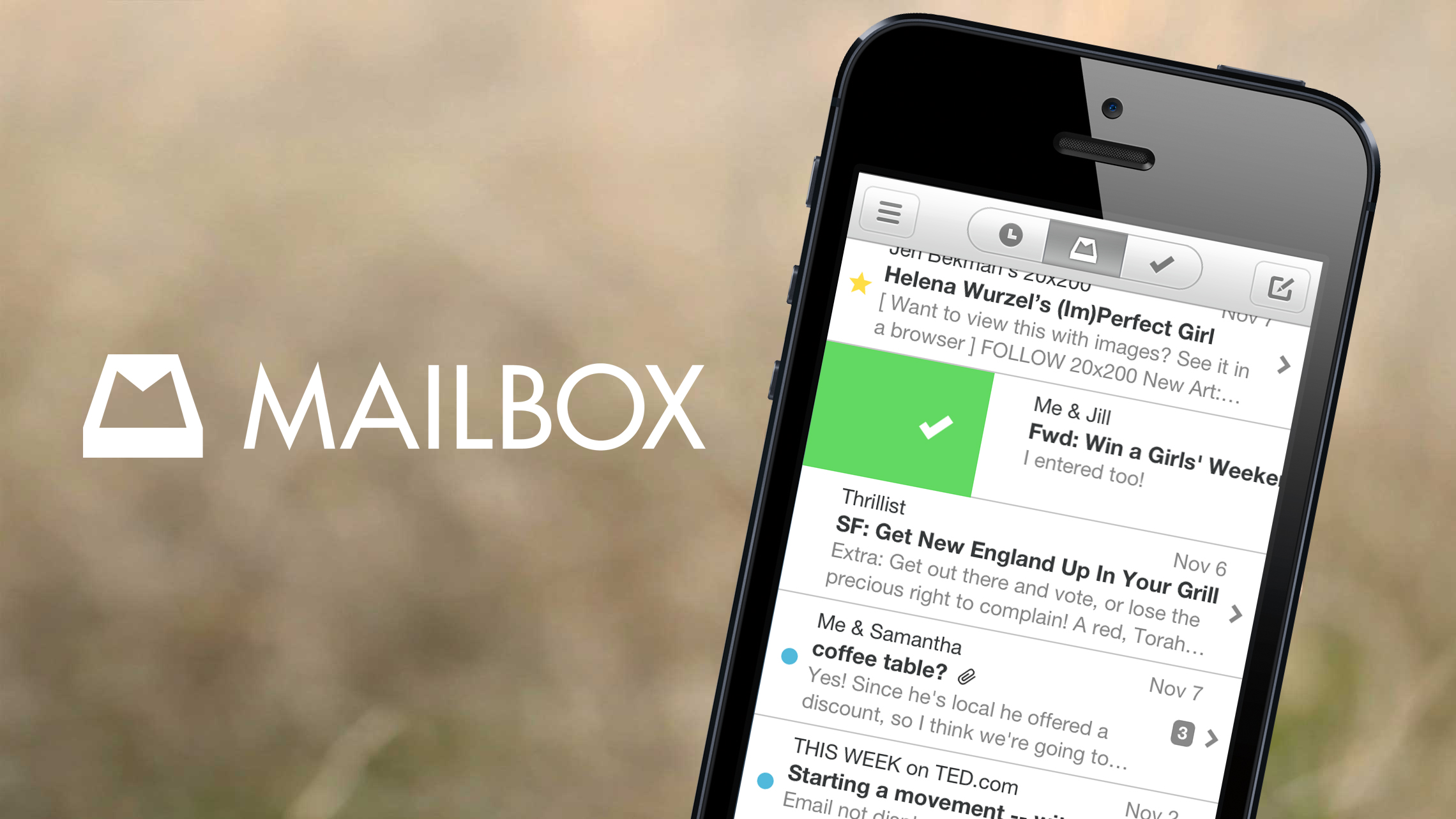 Over Time, This Leaves Us With A Massive Number Of Emails In Our Inbox.  Mailbox Is A New IOS App That Promises To Help Its Users Reach Inbox Zero  With Their ...
